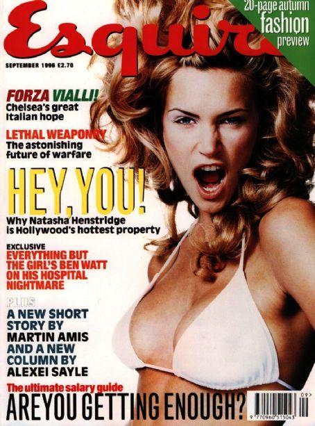 Наташа Хенстридж на обложках журналов