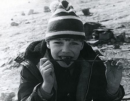 Илья Лагутенко в детстве и молодости