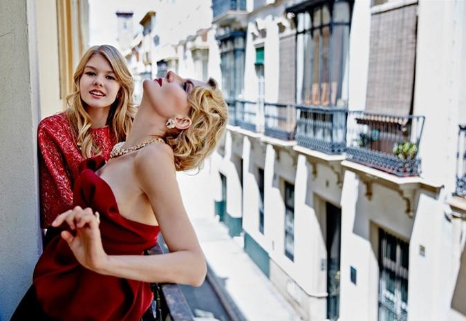 Рената Литвинова вместе с дочерью Ульяной в фотосессии Данила Головкина