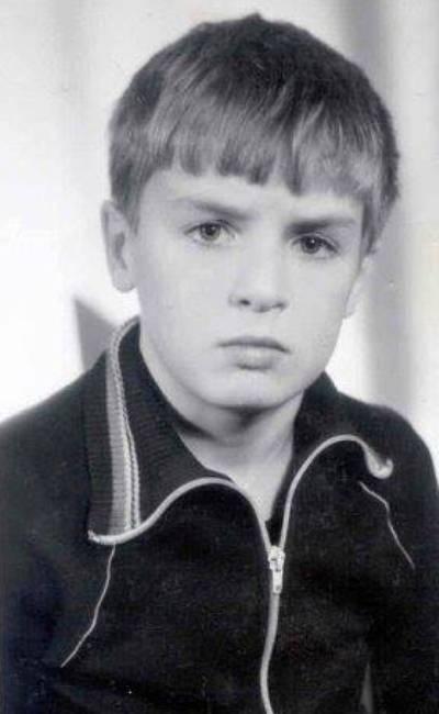 Александр Пономарев в детстве