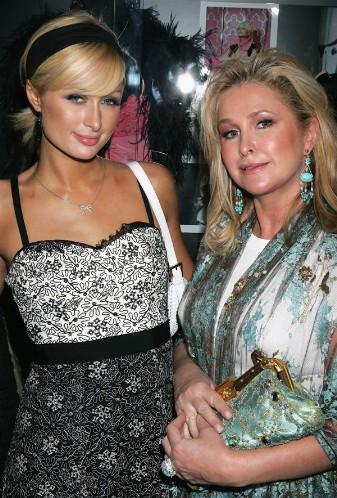Пэрис Хилтон с мамой Кетти