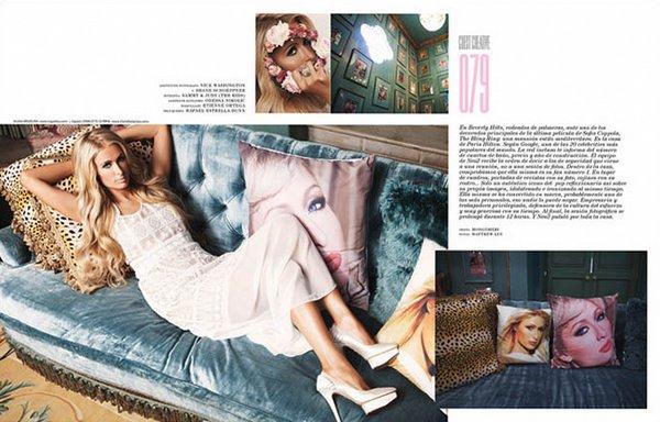 Пэрис Хилтон для Neo2 Magazine, октябрь 2013