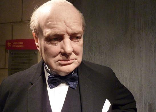 Уинстон Черчилль в музеях мадам Тюссо