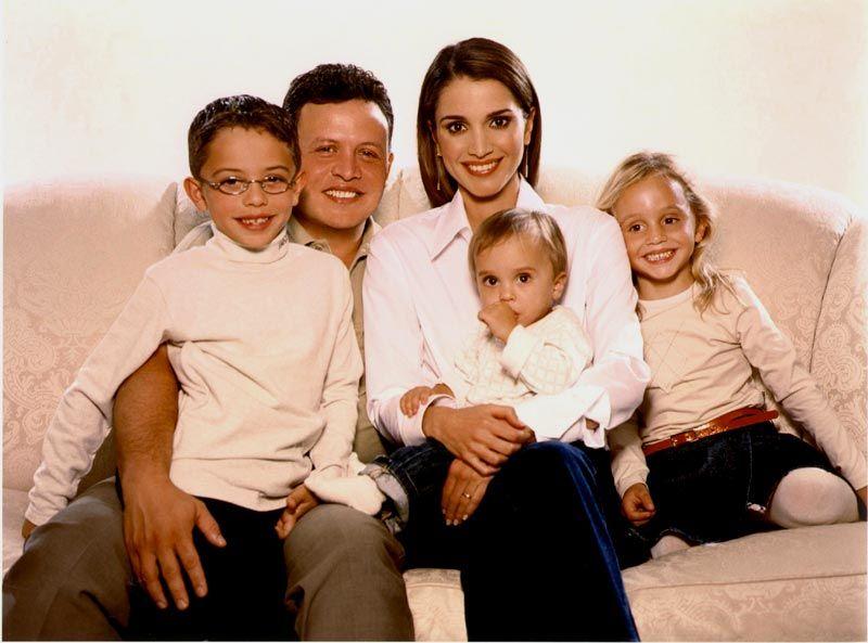 Семья Рании Аль-Абдулли и Абдалла II