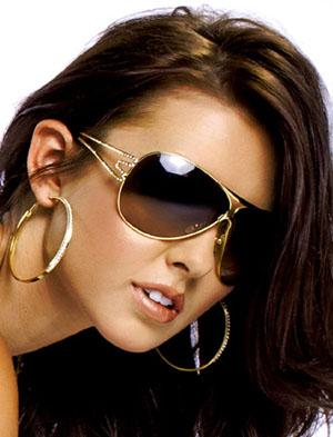 Одрина Пэтридж и ее солнцезащитные очки