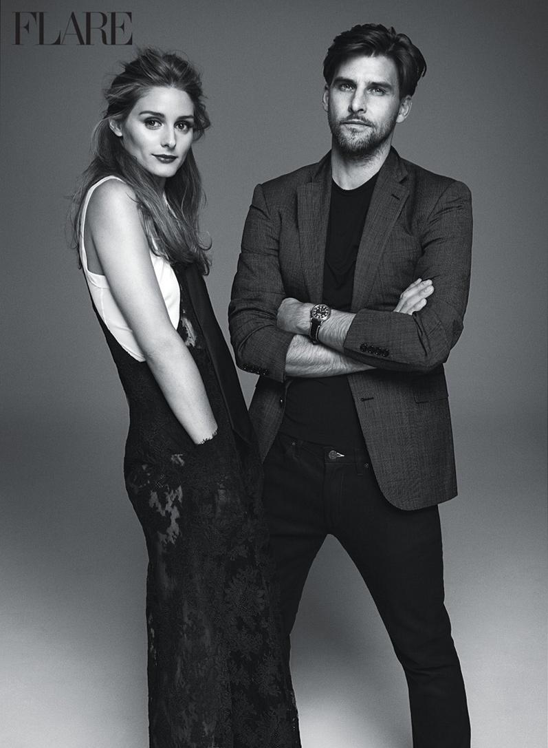 Оливия Палермо и Йоханнес Хьюбл для Flare, февраль 2015