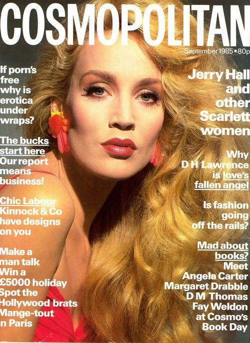 Джерри Холл на обложках журналов