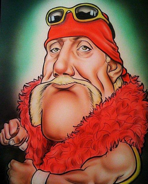 Карикатуры на Халка Хогана