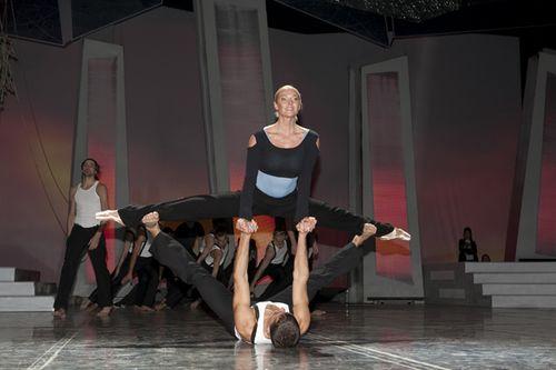 Анастасия Волочкова на сцене