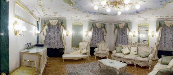 Дворцовая роскошь квартиры Анастасии Волочковой