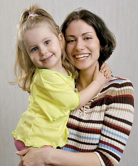Анна ковальчук с дочкой
