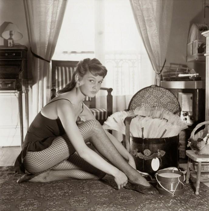 18-летняя Бриджит Бардо в фотосессии Уолтера Карона