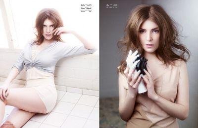 Анна Кендрик в журнале Flaunt Magazine
