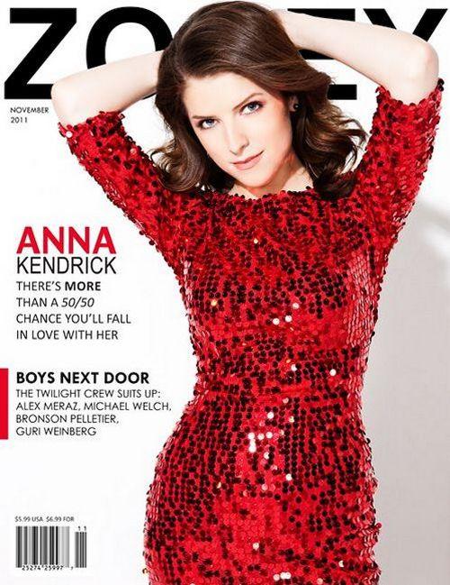 Анна Кендрик на обложках журналов