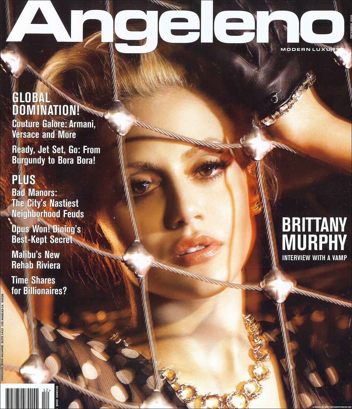 Бриттани Мерфи на обложках журналов