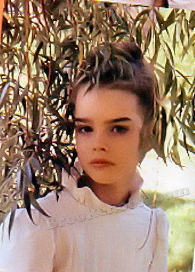 брук шилдс фото в юности