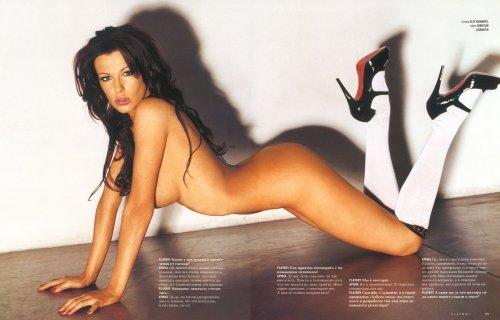 Арина Махова в журнале Playboy