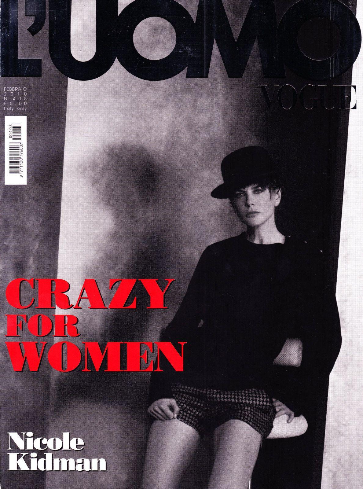 Николь Кидман на обложках журналов