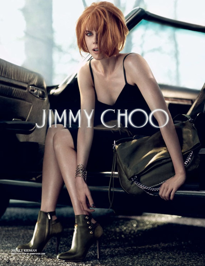 Николь Кидман в рекламной кампании JIMMY CHOO F/W 13.14