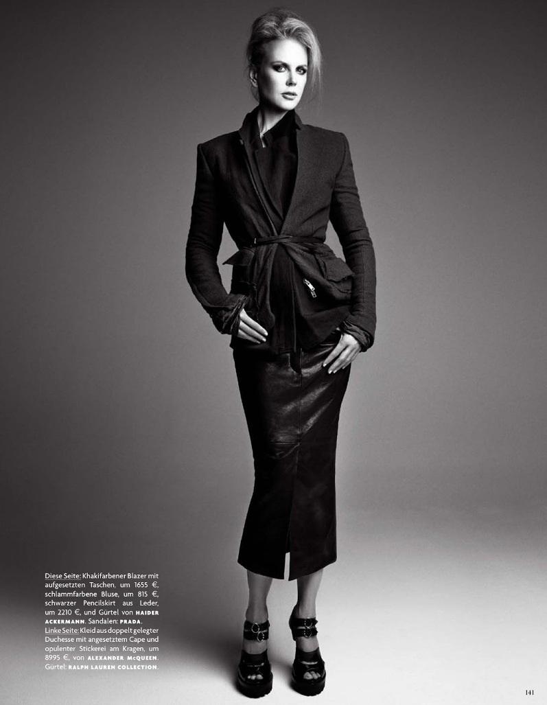 Николь Кидман для журнала VOGUE Germany, август 2013