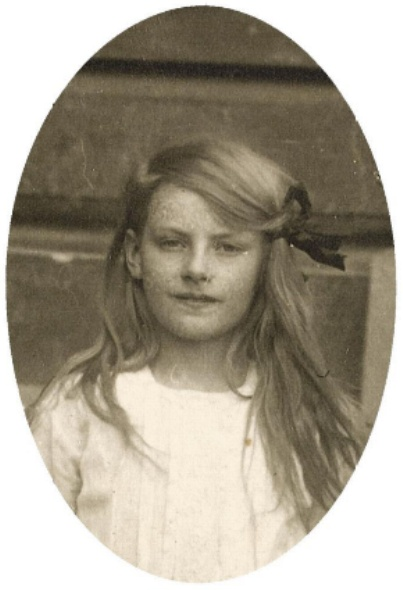 Грета Гарбо в детстве