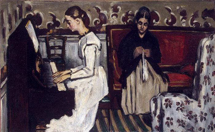 Творчество Поля Сезанна. Ранний период. 1861-1870