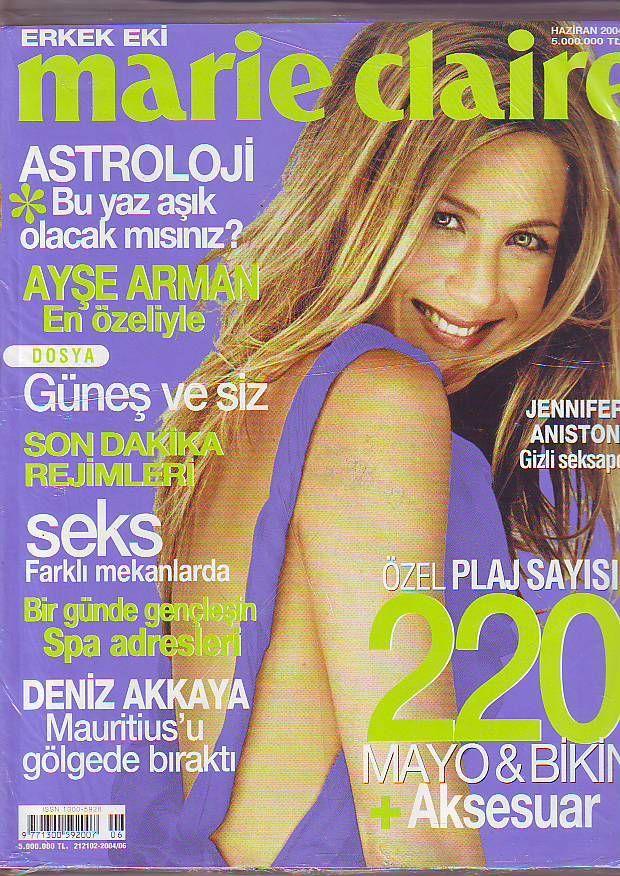 Дженнифер Энистон на обложках журналов