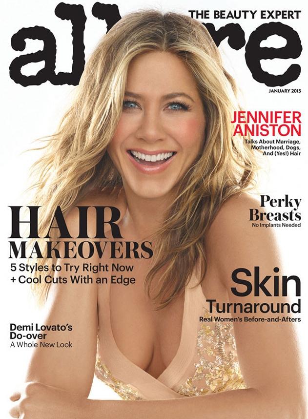 Дженнифер Энистон для Allure US, январь 2015