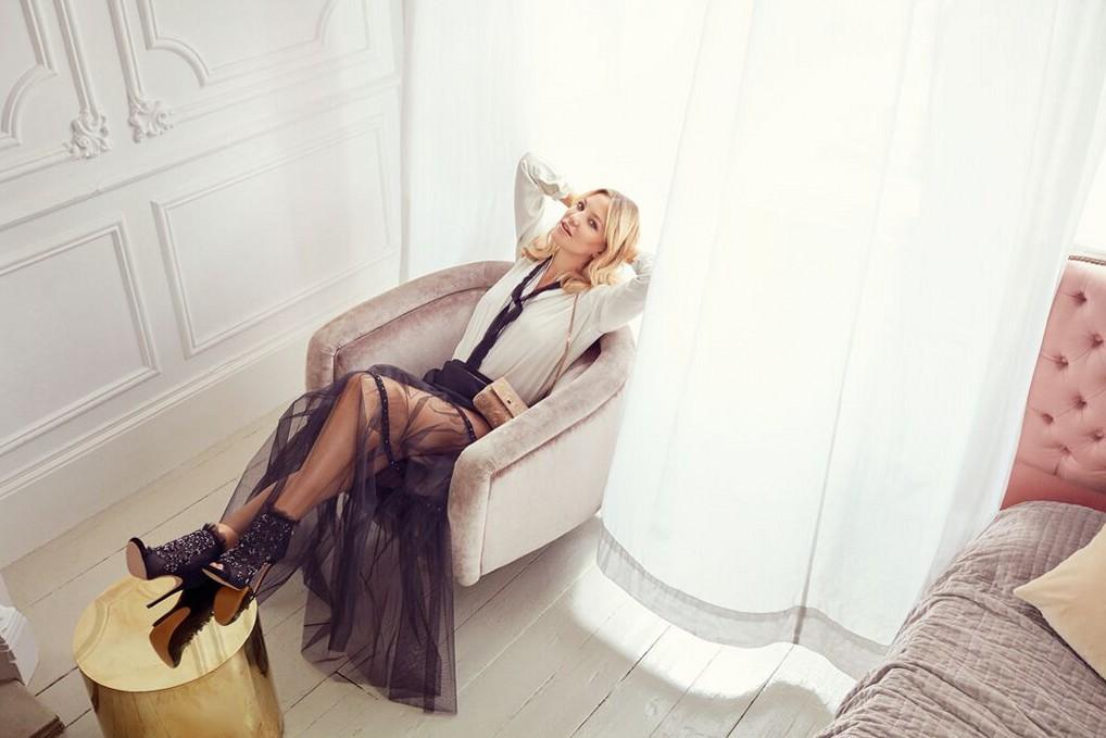Кейт Хадсон в рекламной кампании Jimmy Choo, осень 2015