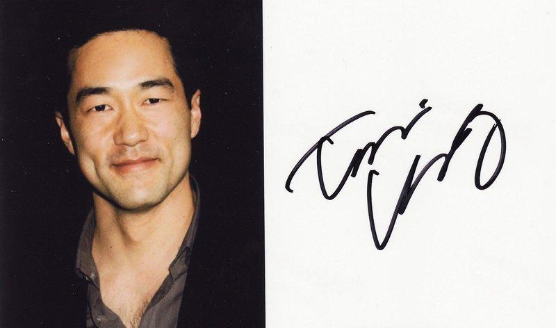 Автограф Тима Кана
