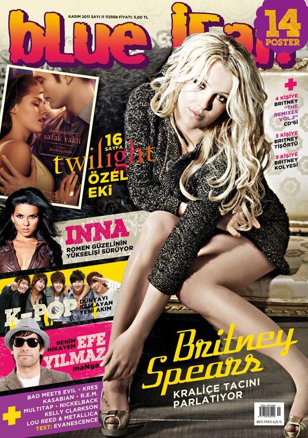 Бритни Спирс на обложках журналов