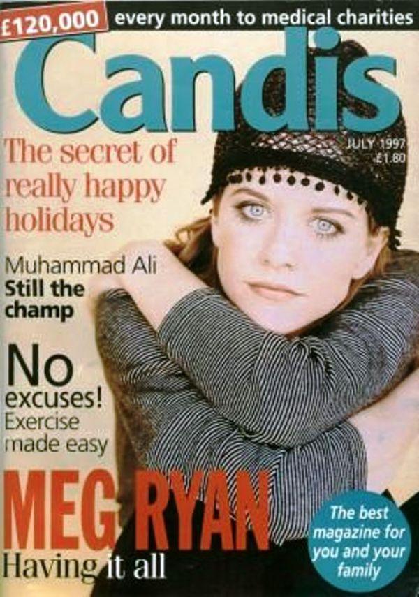 Мег Райан на обложках журналов