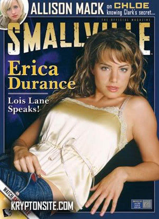 Эрика Дюранс на обложках журналов