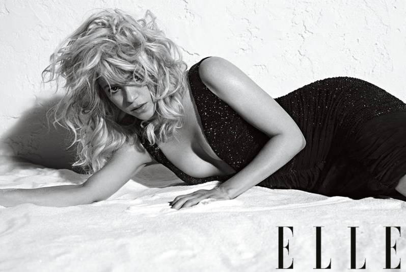 Шакира в июльском выпуске ELLE US