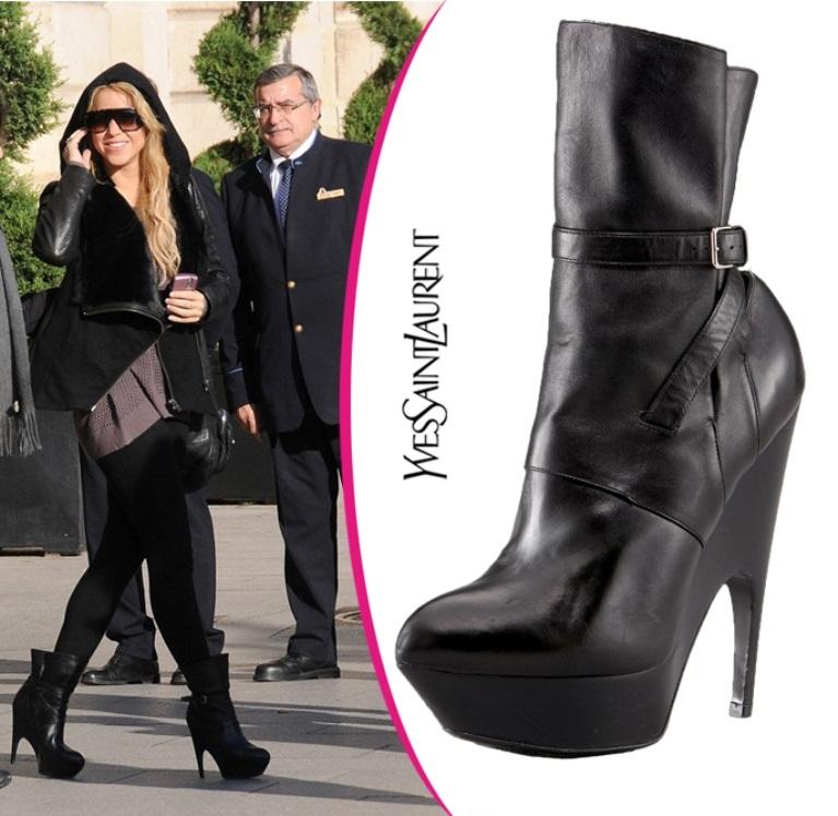 Звездная обувь Шакиры