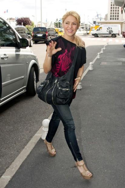 Уличный стиль Шакиры