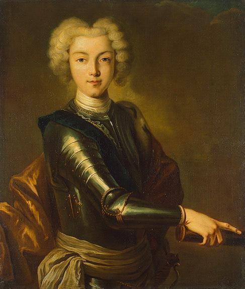 Внук Петра Великого Петр II Алексеевич, последний Романов