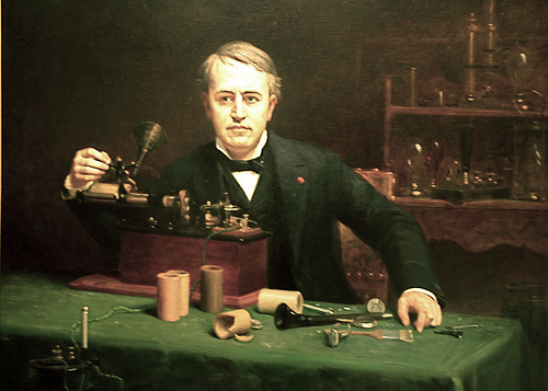 Томас Алва Эдисон (Thomas Alva  Edison)