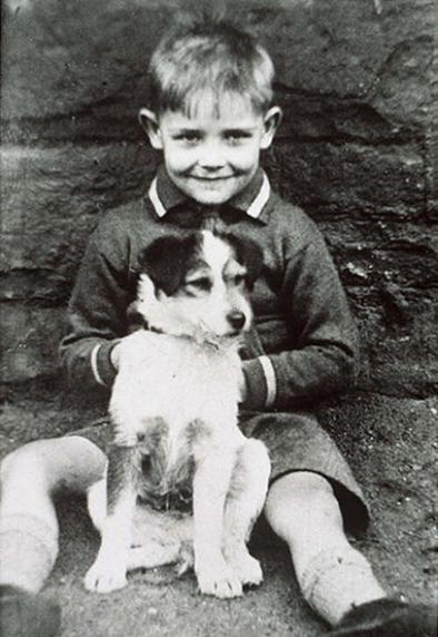 Шон Коннери в детстве и молодости