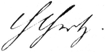 Автограф Генриха Рудольфа Герца