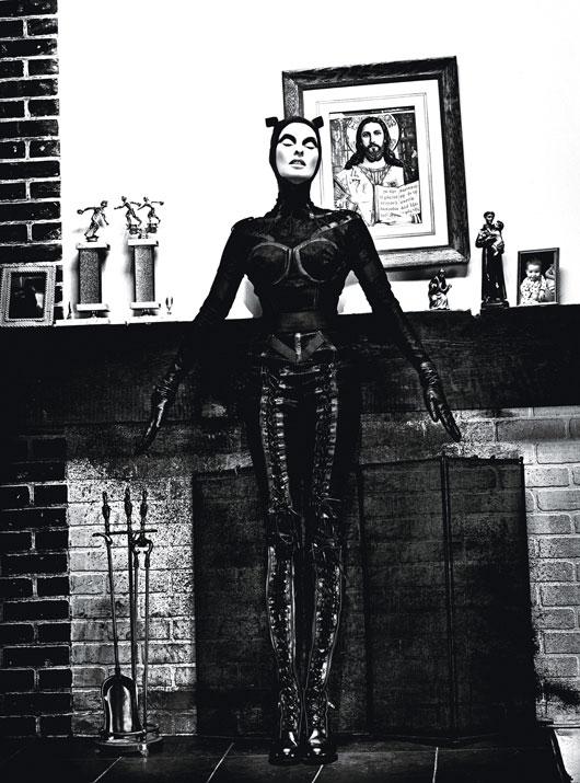 Линда Евангелиста в W Magazine