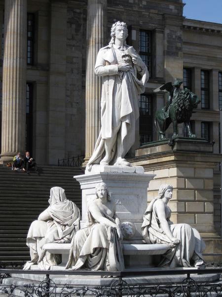 Памятники Иоганну Фридриху Шиллеру