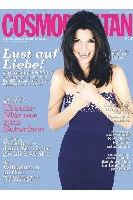 Сандра Буллок на обложках журналов