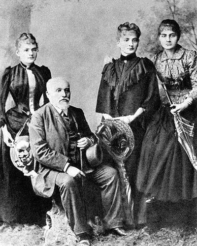 Пьер Кюри и Мария Кюри