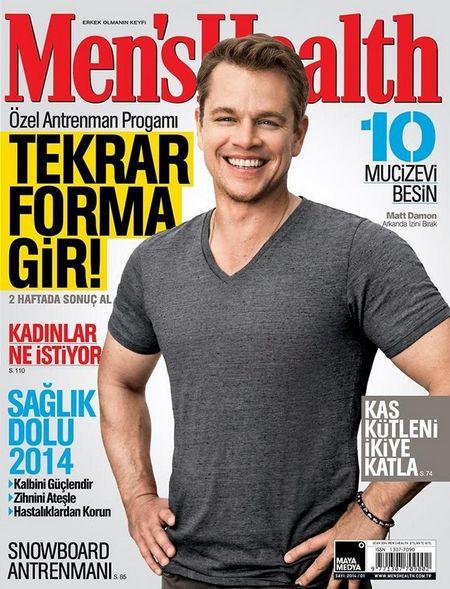 Мэтт Дэймон для Men's Health, январь 2014