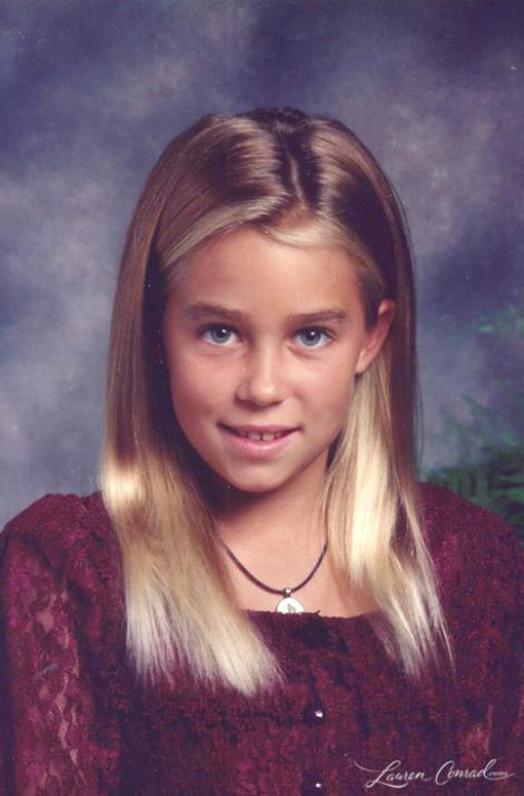 Лорен Конрад в детстве