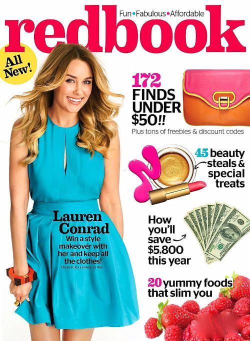 Лорен Конрад на обложках журналов