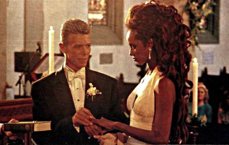 Свадьба Дэвида Боуи и Иман Абдулмаджид, 1992 год