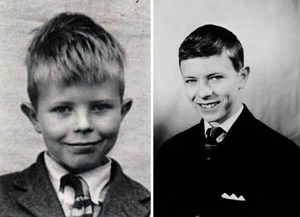Дэвид Боуи в детстве и юности