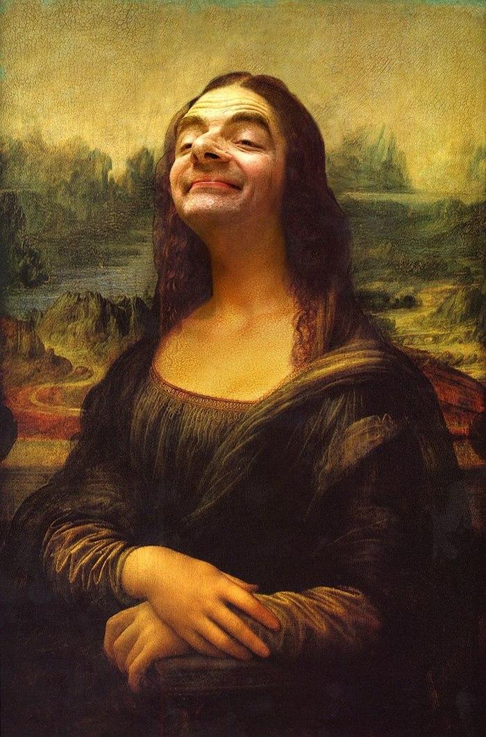 Роуэн Аткинсон на картинах эпохи Возрождения
